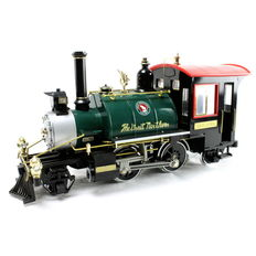 AristoCraft/Railway Express Agency G - REA-21102 - Stoomloc Rodgers 2-4-2 Great Northern
