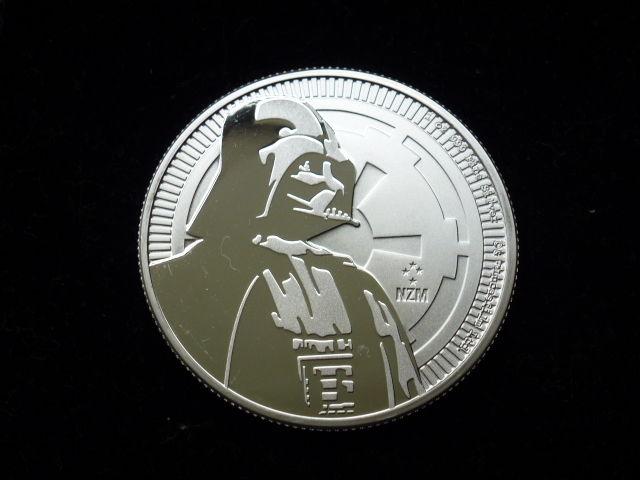 Niue 2017 Silver Star Wars Darth Vader 1 oz 999 silver coin Disney - coins issue