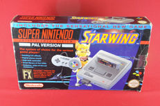 Super Nintendo SNES Set Starwing