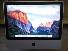 "Apple iMac 20"" Early 2008 - Intel C2D 2.66Ghz, 4GB RAM, 500GB HD, OS X El Capitan - model nr A1224"