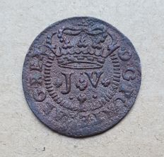 Portugal – 1 and 1/2 Real 1714 – D. João V Superior condition