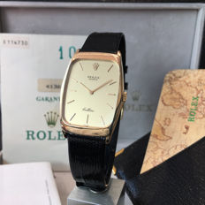 Men's Rolex Cellini 18k Gold, Ref. 4136 with Box And Papers