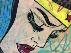 Dillon Boy - Wonder Woman - Graffiti Girls - Pop Art