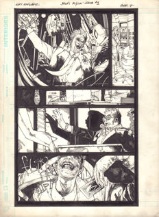 Alex Sanchez - Original Art Page - DC Comics - Joker's Asylum : The Joker #1 - Page 7 - (2008)