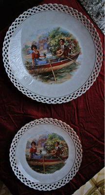 Shumann Bavaria Collectible cake set - 7 pieces