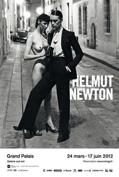Helmut Newton - 2x Exposition Grand Palais Paris - 2012