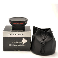 Crystal Vision Wide Angle Lens DWC W/Macro 0.7x 62mm (1937)