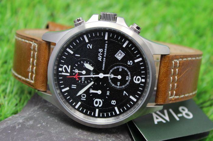 AVI-8 - Men's Hawker Harrier II - Chronograph Watch - New & Perfect Condition