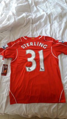 deluxe Sterling Liverpool case + autographed jersey