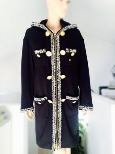Moschino couture exclusive coat