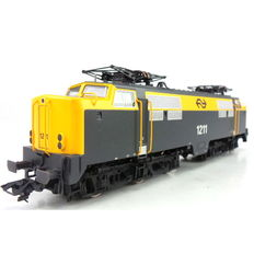 Trix H0 - 22328 - Heavy multi-functional electric locomotive series 1200 of the NS