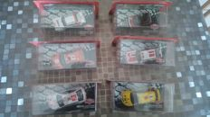 Atlas - Scale 1/43 - Lot of 6 cars Rally Monte Carlo