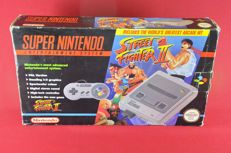 Super Nintendo Street Fighter II Set