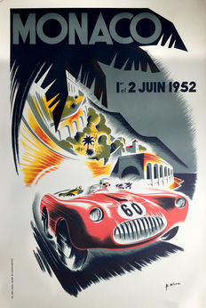 B.Minne- Grand Prix Automobile de Monaco ( 1952) - 1991