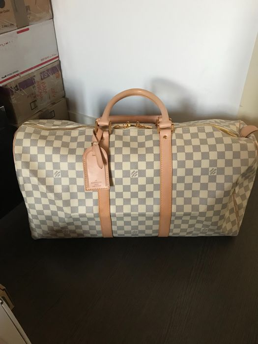 f66b45367 Louis Vuitton - Keepall 50 Damier Azur - *No Minimum Price* - Catawiki