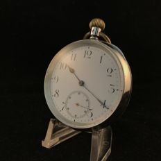 Omega - Men's pocket watch - Open face - around 1905