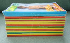 Pornography; Lot with 16 Candy magazines - 1989/1991