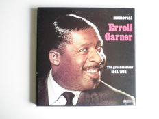 Erroll Garner, memorial ( The great sessions 1944/1954) - Box with 4 LP`s. Duke Ellington/Johnny Hodges, Side by side. Lester Young a.o., Jazz moods. Cannonball/Coltrane, Duke Ellington, Daybreak express. Duke Ellington, the complete Ellington Vol.7, 1936