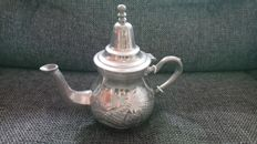 Beautiful silver plated Theiere Moulay Hassan teapot