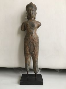 Bronze figure statue Khmer style - Thailand - end 20th century