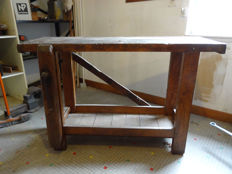 Vintage artisan's workbench
