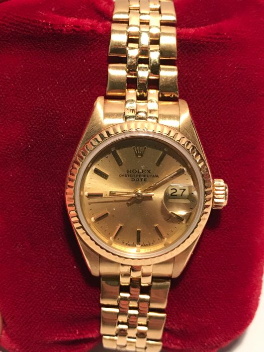 Rolex - Oyster Perpetual datum Lady - 1990