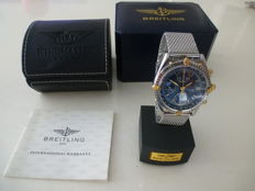 Breitling -  Chronomat Light Blue Antracit Dial - 81950 - Men - 1990-1999