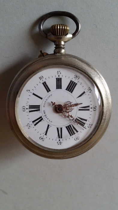 Rosskopf -- Men's pocket watch -- Early 20th century