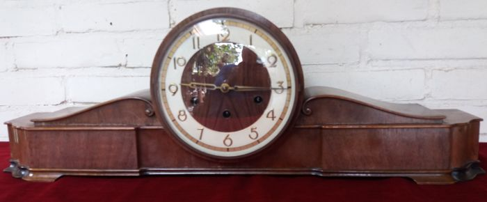 Westminster clock in good condition, 1930s-40s, Kinzle