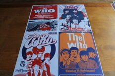 The Who  - Set of 4 Concert Posters