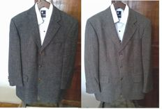 Hugo Boss - Lot of two jackets dyed black and beige