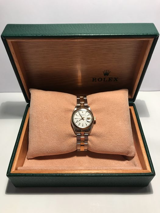 Rolex - Oyster Perpetual Date Lady- 69160 - Dames - 1990-1999