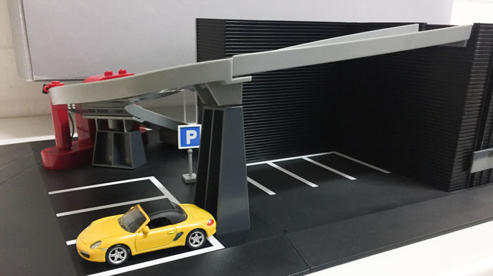 Porsche Showroom With Cars Scale 164 Catawiki