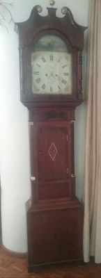 English longcase clock – 19th century