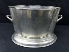 Silver plated ice bucket, England 20th century