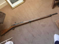 French regulatory rifle model 1866/74 Gras