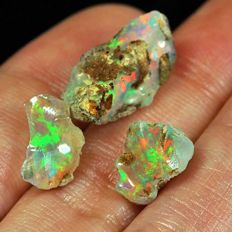 Natural Play Of Color Welo Opal - 9.50 ct (3)