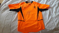 Holland jersey, signed by Stam