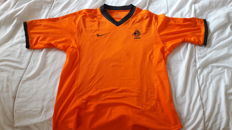 HOLLAND jersey, dedicated by Kluivert