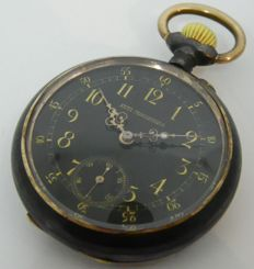 Anonymous military pocket watch ca 1925