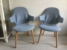 Jaime Hayon for &Tradition – set of 2 designer chairs, Catch model