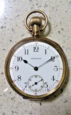 Waltham, Massachusetts, USA - Pocket watch - Circa 1905