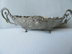 Silver plated Fruit bowl France 20th century.