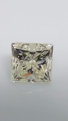 1.21 ct - Princess - White - H / VS2