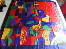 Three Picasso pieces – Square scarf – good condition