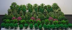 Scenery N - Package with 120 trees for modelling use