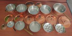 Set of cookware of the Spring Coulinox brand