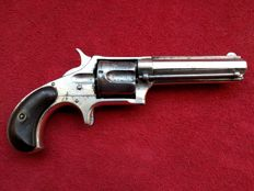 U.S.A. Remington Smoot New Model No 3 cal .38 Rimfire revolver