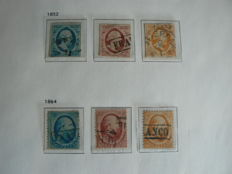 Netherland 1852/1944 - Collection in Davo crystal album
