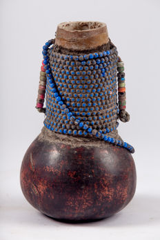 Anthropomorphic flask - NYAMWEZI - Tanzania